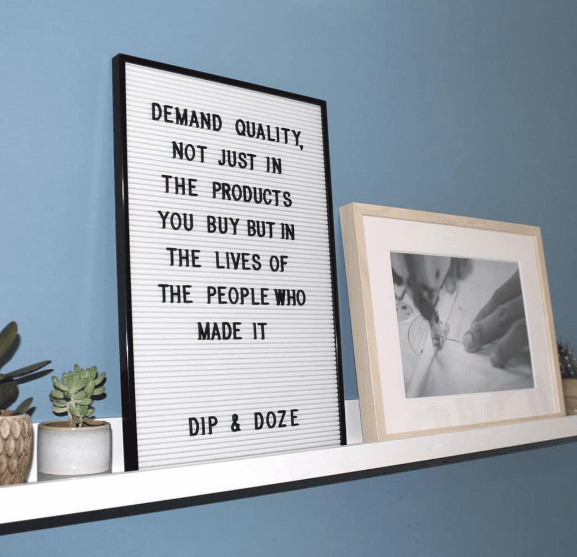 Dip & Doze quality board